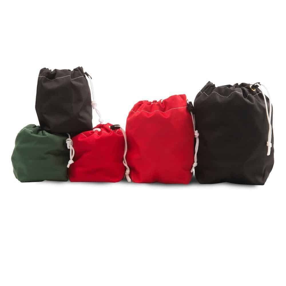 cordura stack-able range ball bags filled with golf balls