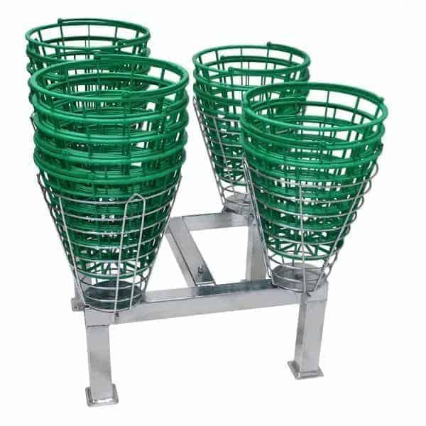 Basket Stand for golf baskets and driving range baskets