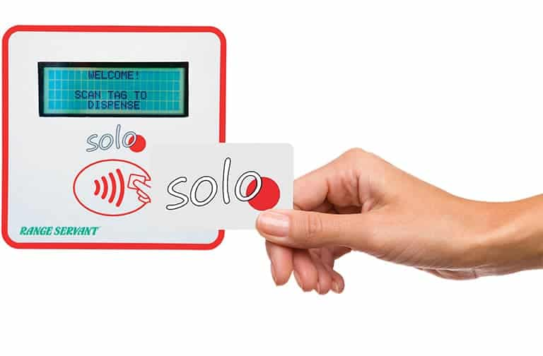 Solo Golf Ball Dispenser Contactless Payment System