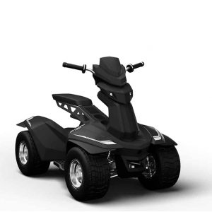 Black Ellwee Golf golf cart available at Range Servant America