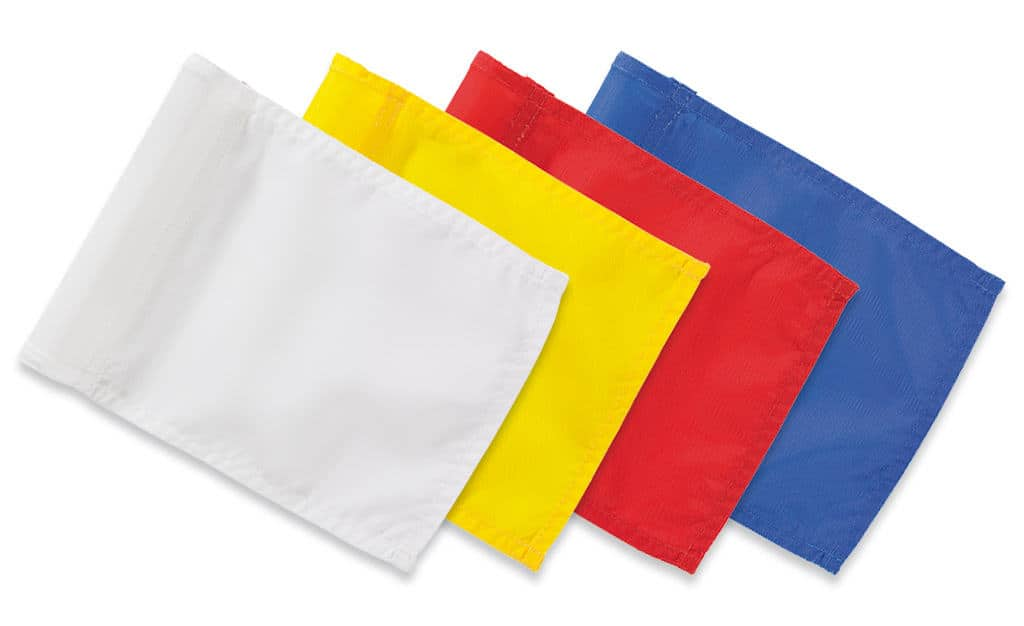 Course Flags - Solid Color