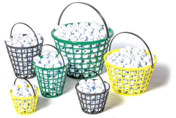 Deluxe Golf Ball Basket