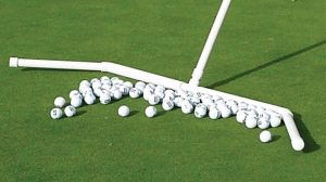 Golf Practice Green Ball Rake