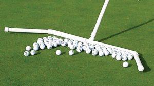 Golf Practice Green Ball Rake