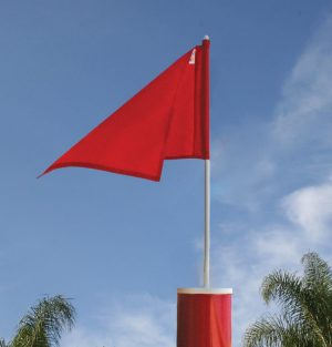 Barber Pole Flag Extensions