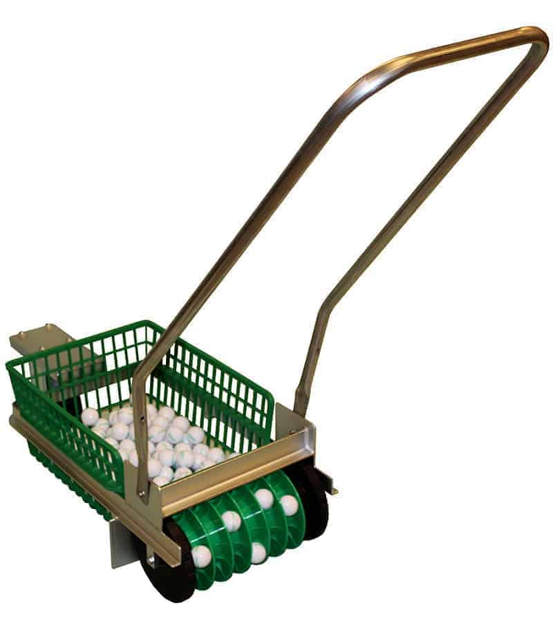 Single Basket Hand Push Golf Ball Picker
