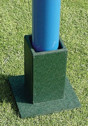 Barber Pole In Ground Sleeve