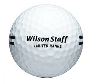 White Wilson Limited Flight Ball with Black Stripe