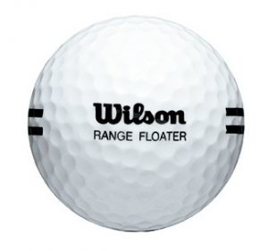 White Wilson Floater Ball with Black Stripe