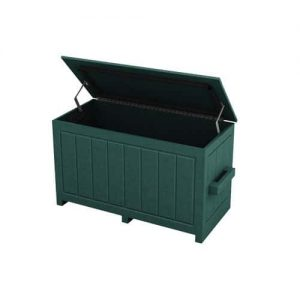 Small Green Divot Mix Storage Box with Open Top