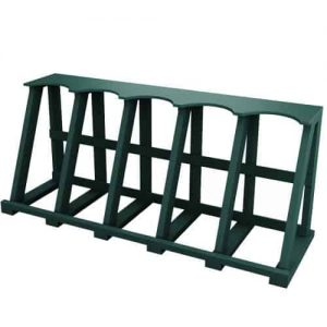 Fixed Golf Bag Rack Green