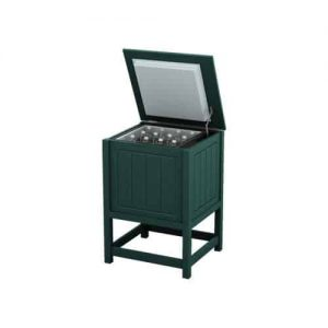 Small Green Ice Chest Cooler Enclosure Box