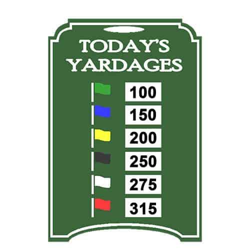 Range Easel - 6 Flags