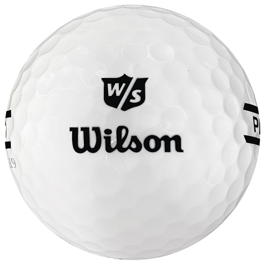 Wilson Premium Range Ball Black Stripe